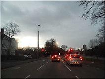 TQ0682 : Hillingdon Hill at the junction of Kingston Road by David Howard