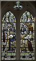 TF2988 : Stained glass window, All Saints' church, South Elkington by J.Hannan-Briggs