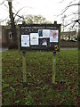 TM1178 : Palgrave Community Notice Board by Adrian Cable