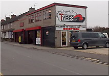 SU1585 : Thamesdown Tyres, Swindon by Jaggery