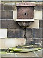 SJ8990 : Drinking Fountain outside St Mary's in the Marketplace by Gerald England