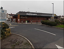 SU1585 : McDonald's Great Western Way, Swindon  by Jaggery