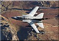 NY3119 : A low flying RAF jet at Thirlmere by Walter Baxter