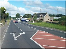 J3633 : Carnacaville Road turnoff on the A50 (Castlewellan Road) by Eric Jones