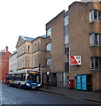 SO8318 : Quedgeley bus in Eastgate Street, Gloucester by Jaggery