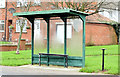 J3876 : Bus shelter, Knocknagoney, Belfast (December 2014) by Albert Bridge