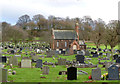 SK5055 : Kirkby in Ashfield Cemetery by Alan Murray-Rust