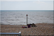 TQ7306 : Groyne, Collington by N Chadwick