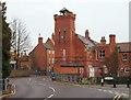TF0645 : Former Fire Station, Sleaford, Lincs. by David Hallam-Jones