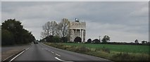 TM1888 : Water tower by the A140 by N Chadwick