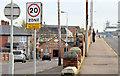 J3272 : 20 mph zone, Tate's Avenue, Belfast (December 2014) by Albert Bridge