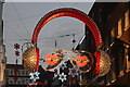 TQ2980 : Carnaby Street Christmas decorations by Oast House Archive