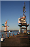 NT1278 : Port Edgar and the New Bridge by Anne Burgess