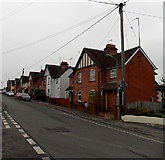 SU5389 : Hagbourne Road houses north of Kynaston Road, Didcot by Jaggery