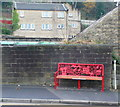 SE1411 : Seat on Woodhead Road, Honley by Humphrey Bolton