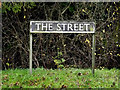 TM2289 : The Street sign by Adrian Cable