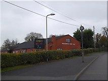 SJ4335 : Welshampton Parish Hall by David Smith