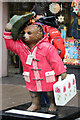 "TQ2580 : ""Dapper Bear"", Paddington Bear, Notting Hill Gate by Oast House Archive"