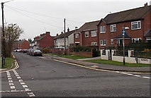 SU5290 : East along Lydalls Road, Didcot by Jaggery