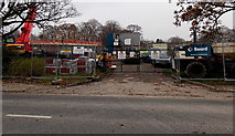 SU1585 : Construction of a new pavilion in  St Mark's Recreation Ground, Swindon by Jaggery