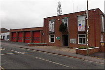 SU5290 : Didcot Fire Station by Jaggery