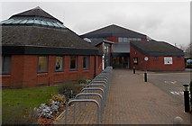 SU5290 : Entrance to Didcot Civic Hall & Town Council Offices by Jaggery
