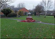 SU5290 : Didcot War Memorial by Jaggery