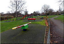 SU5290 : Smallbone Rec Play Area, Didcot by Jaggery