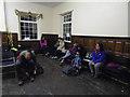 SE9329 : Walkers having a rest on Rudolph's Romp 2014 by Ian S