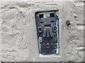 NY4564 : Ordnance Survey Flush Bracket 11313 by Peter Wood