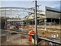 SJ8499 : Manchester Victoria Station Refurbishment, December 2014 by David Dixon