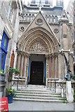 TQ3281 : Church of St Michael, Cornhill by N Chadwick