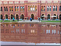 TQ2679 : V&A reflected by Chris Denny