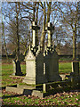 SK4858 : Victorian grave monuments by Alan Murray-Rust