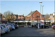 SK4958 : Market Place, Sutton-in-Ashfield by Alan Murray-Rust