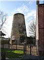 SK4958 : Lindley's Windmill, Sutton-in-Ashfield by Alan Murray-Rust