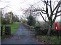 ST3694 : Drive and footpath by Jonathan Billinger