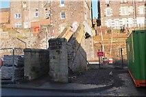 NT4836 : Footbridge to High Buckholmside by Jim Barton