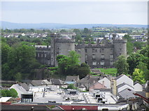 S5055 : Kilkenny - View from Round Tower towards Kilkenny Castle (close up) by Colin Park