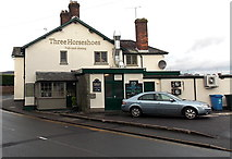 ST3090 : East side of Three Horseshoes pub & dining, Malpas, Newport by Jaggery
