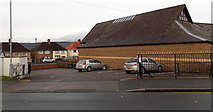 ST3090 : Car park for fish & chips shop customers only, Malpas, Newport by Jaggery