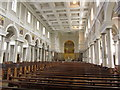 N4353 : Mullingar - Interior of Cathedral of Christ the King (nave) by Colin Park