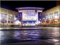 SJ8097 : Lowry Plaza and Outlet Mall, Salford Quays by David Dixon