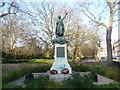 TQ3184 : Boer War memorial in Highbury Fields by Marathon
