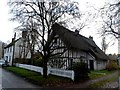 TL3344 : White House and Church Cottage, Bassingbourn by Bikeboy