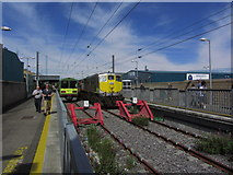 O2839 : Trains at Howth Station by Colin Park