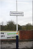 SK3871 : Chesterfield Station by N Chadwick