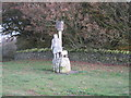SK5114 : Statue and Beacon at Beacon Hill Country Park by William Fairbrother