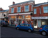 ST8026 : High Street Post Office, Gillingham, Dorset by Jaggery