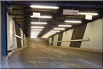 SK5804 : Out ramp from the underground car park by Mat Fascione